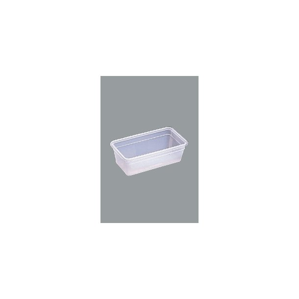 Kantine Bourgeat u/låg plast 1/4x100mm