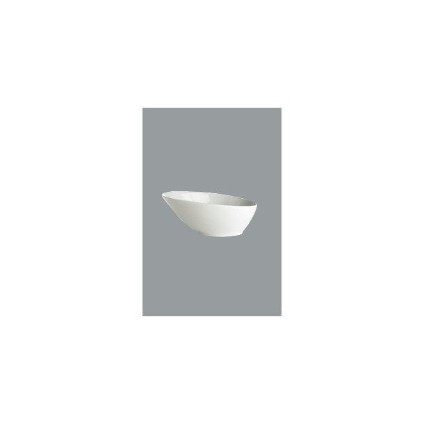 HV skål Gastro oval skæv 12,5x10x4 cm