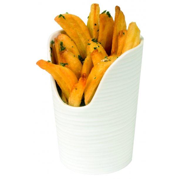 HV skål chips Ø 9 cm. H 12,3 cm.