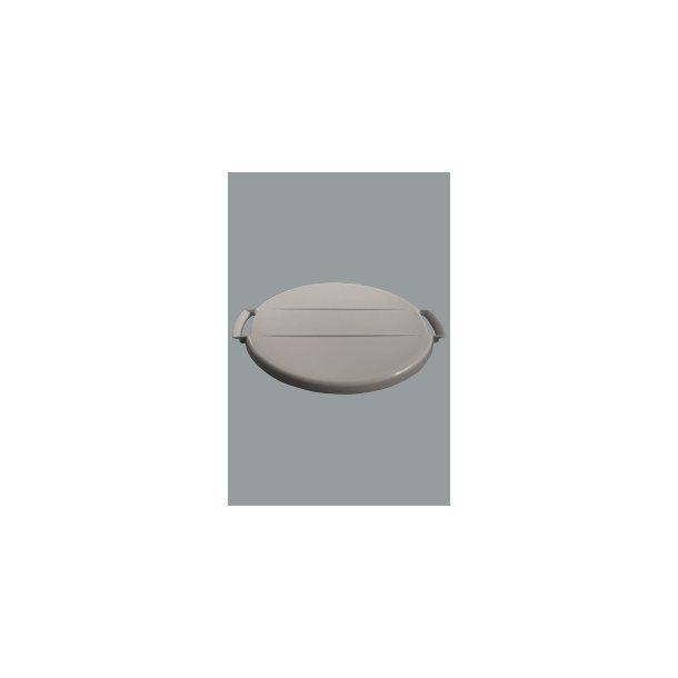 Affaldsspandelåg grå 40 L
