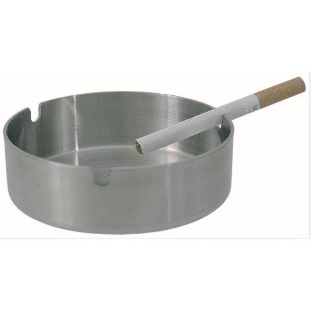 Askebæger børstet stål   Ø 12,0 cm
