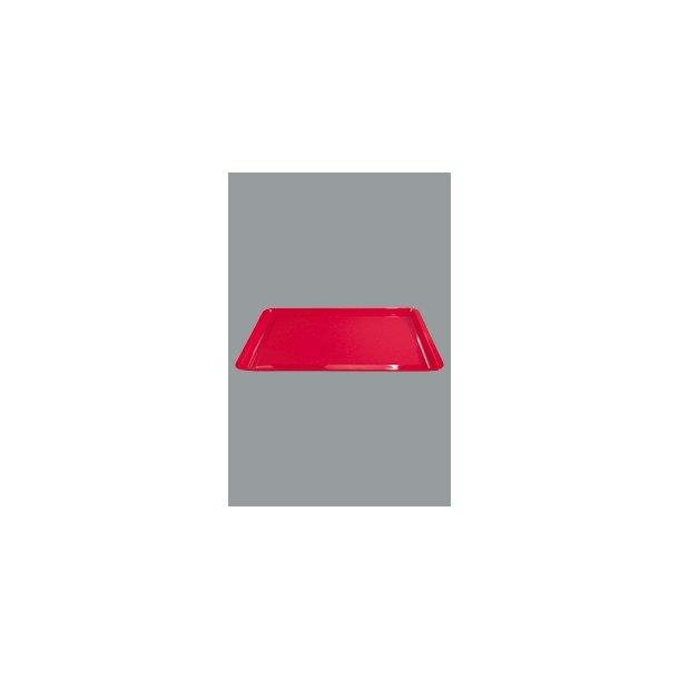 Bakke Farusa rød plast 45x30 cm
