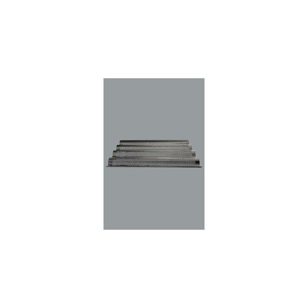 Bageplade flütes 1/1 alu 53x32,5 cm
