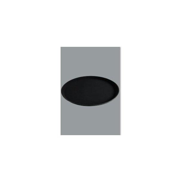 Bakke sort skridsikker  Ø 36 cm