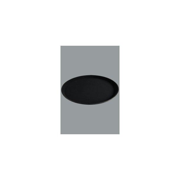 Bakke sort skridsikker  Ø 41 cm
