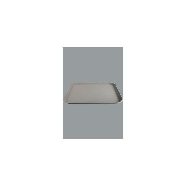 Bakke skridsikker  brun 56x40 cm