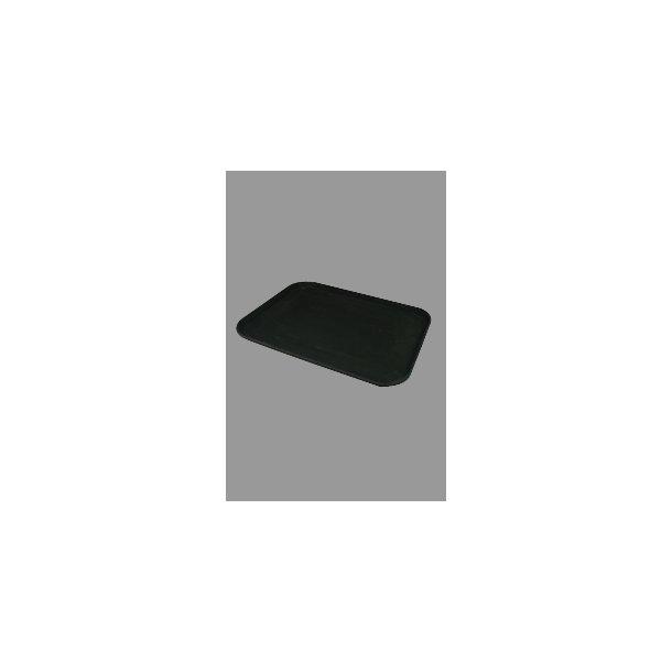 Bakke skridsikker sort 43,0x 33,0 cm