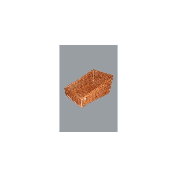 Brødkurv rekt. buffet rødpil 33x50 cm
