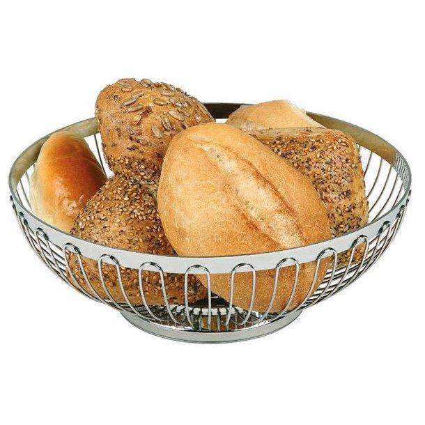 Brødkurv rustfri  Ø 17,0 cm