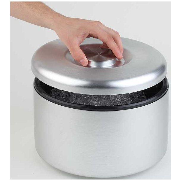 Isspand alu m/plastindsats 5,0 L