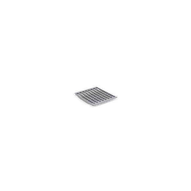 Hylde Bourgeat grå plast 1/1 GN