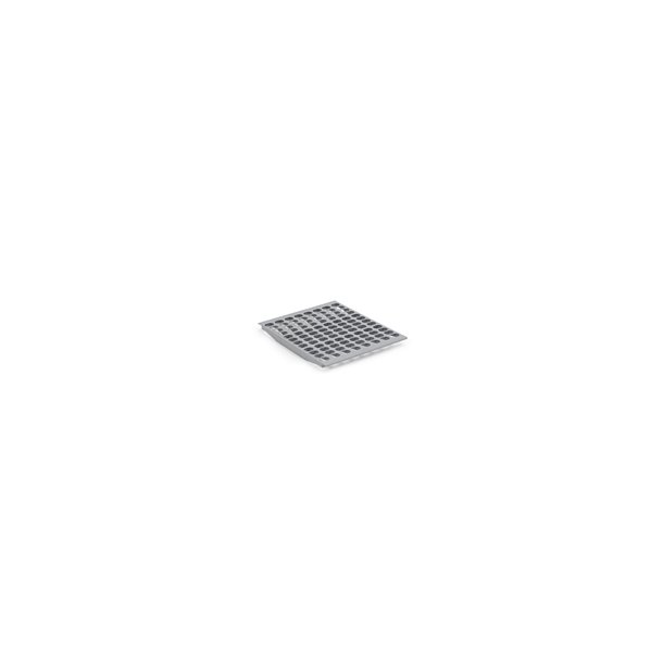 Hylde Bourgeat grå plast 2/3 GN bred