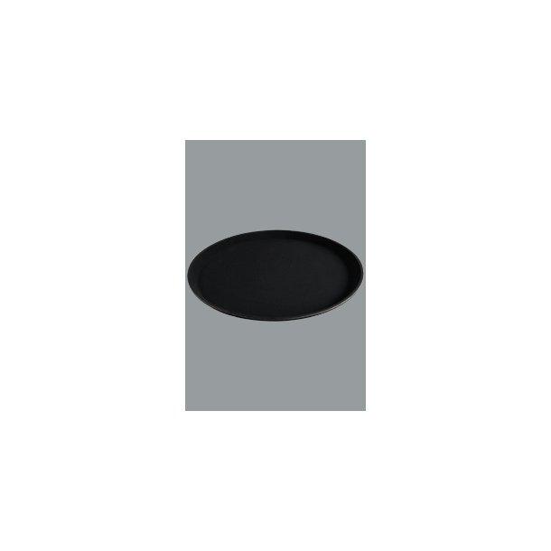 Bakke sort skridsikker Ø 28 cm.