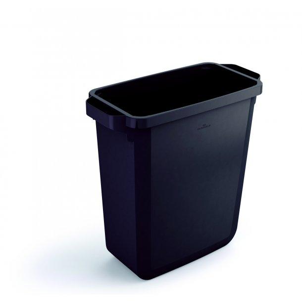 Affaldsspand 60 L. Sort u/låg