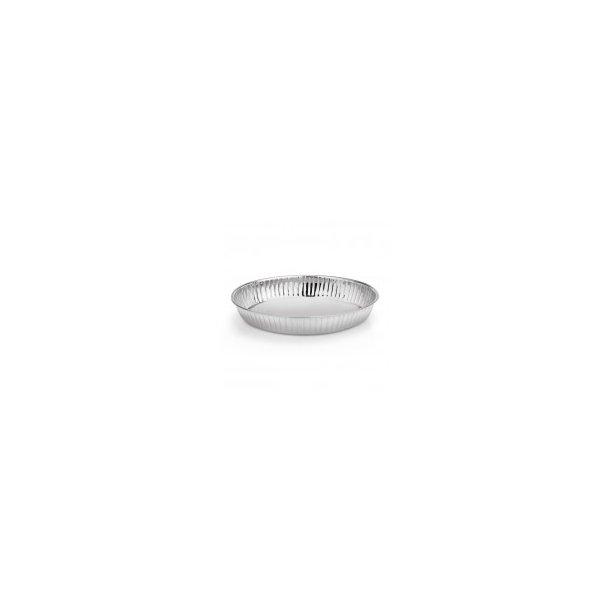 Brødkurv rf. oval rillet 26x18 cm.